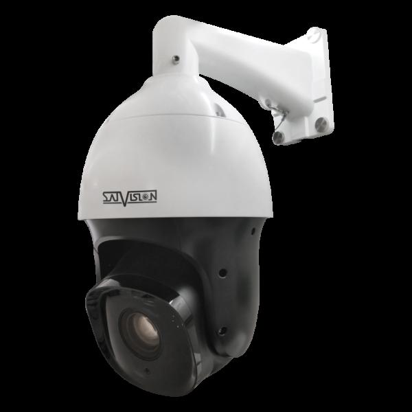 Высокоскоростная поворотная PTZ IP-видеокамера Satvision