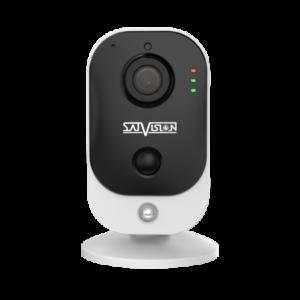 Пластиковая компактная IP-видеокамера Satvision с Wi-Fi модулем