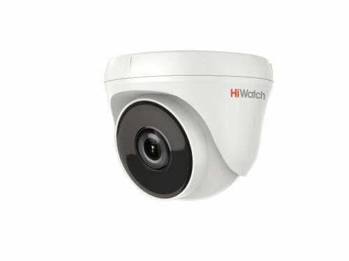 купольная HD-TVI видеокамера с EXIR