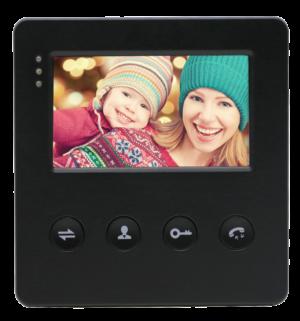 """EVJ-4(b) цветной 4.3"""" видеодомофон на две вызывные панели, слот microSD"""