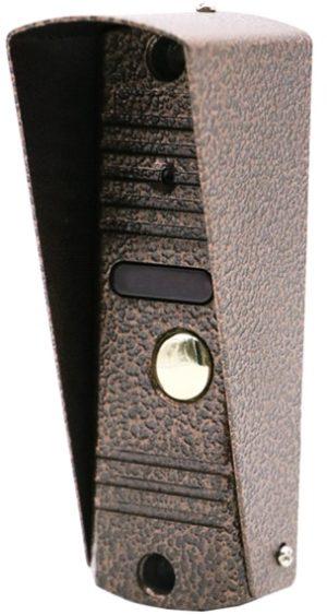EVJ-BC6(c) вызывная панель к видеодомофону, 600ТВЛ, цвет бронза