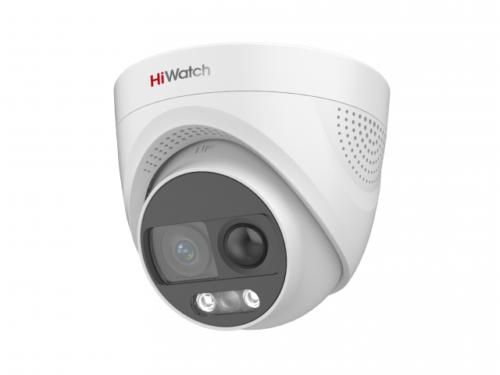 HD-TVI видеокамера с PIR-датчиком