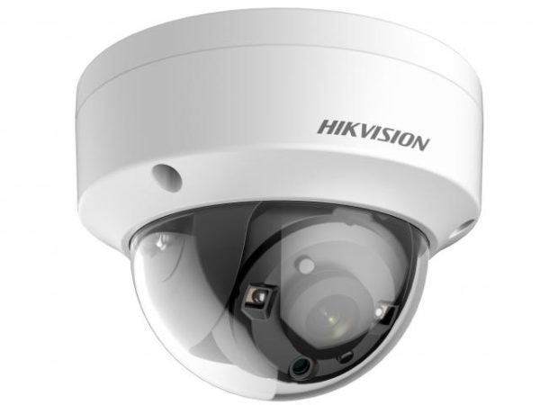 уличная купольная HD-TVI камера с EXIR-подсветкой