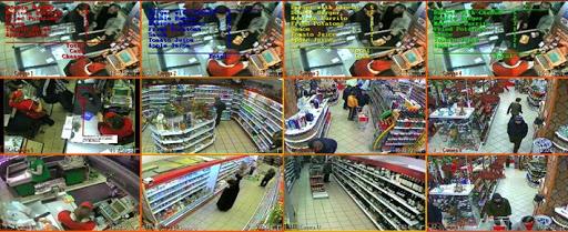 Монтаж и настройка видеонаблюдения в зале магазина самообслуживания