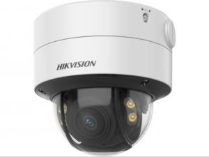 2 Мп купольная видеокамера с моторизованным вариофокальным объективом и технологией PoC серии ColorVu
