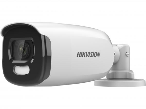 уличная цилиндрическая HD-TVI камера с LED подсветкой