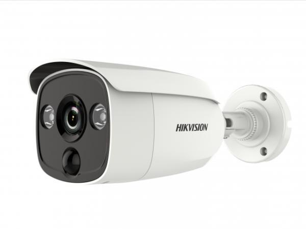 уличная цилиндрическая HD-TVI камера с EXIR-подсветко