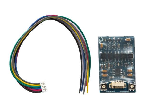 Модуль сопряжения МСК СЛИМ с гальванической развязкой